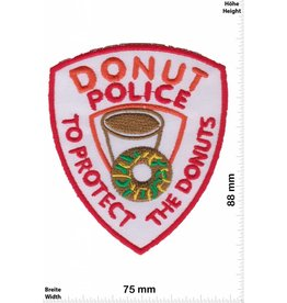 Donut Donut Police - Top Protect the Donuts - Fun