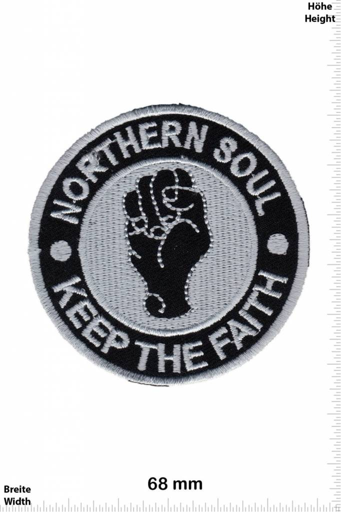 Northerm Soul - Patch - Back Patches