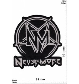Nevermore Nevermore - silber - US-Metal-Band- HQ