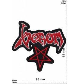 Venom Venom - Pentagram - red  - Metal-Band- Music