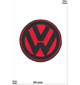 VW,Volkswagen VW - Volkswagen  - red black - Patch