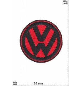VW,Volkswagen VW - Volkswagen  - red black - Patch