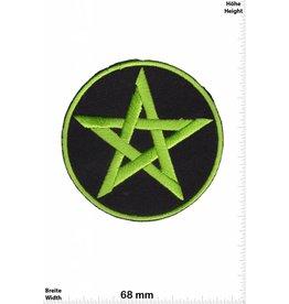 Pentagramm Pentagram - grün - grün -Fun