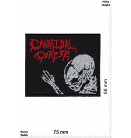 Cannibal Corpse Cannibal Corpse -Death-Metal-Band - Skull