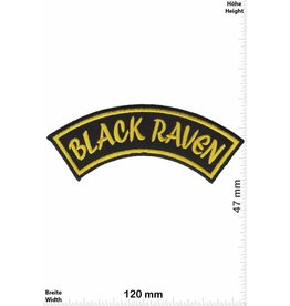 Black Raven Black Raven - cureve -gold