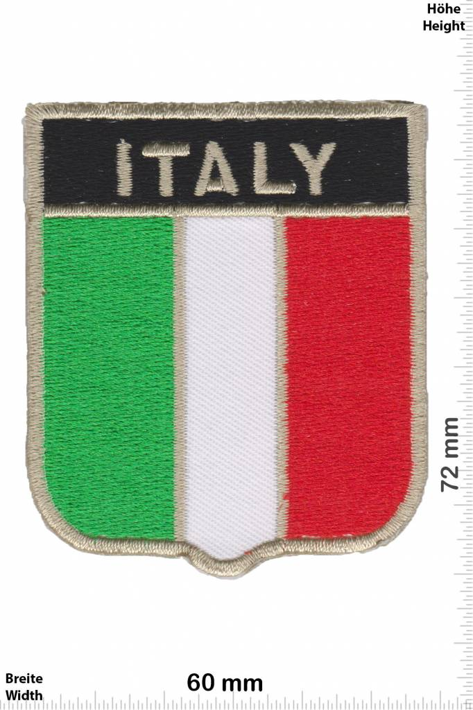 Italien, Italy Italy  - coat of arms - Flag