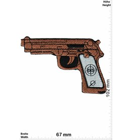 Pistole Gun - brown - Pistol