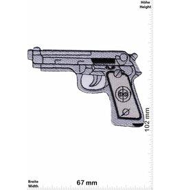 Pistole Gun -  silver - Pistol