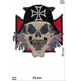 Totekopf  Skull - Iron Cross