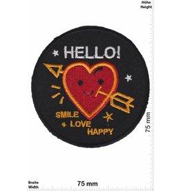 Love Hello! Smile + Love Happy