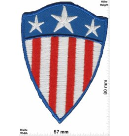 Captain America Captain America - coat of arms - Flag