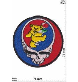 Totekopf  Totenkopf - Bär mit Rose