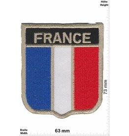 Frankreich, France France Wappen - Flagge - Frankreich