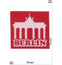 Deutschland, Germany Berlin - Brandenburger Tor - red - silver