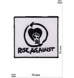 Rage against the machine Rise Against - black white -Punk/Hardcore-Band