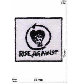 Rage against the machine Rise Against - black white -Punk/Hardcore-Band
