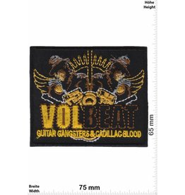 Volbeat VOLBEAT- Guitar Gangster & Cadillac Blood