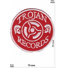 Trojan Trojan Records - rot -round