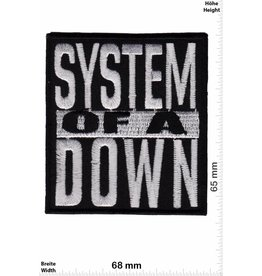 System of a Down System of a Down - silver