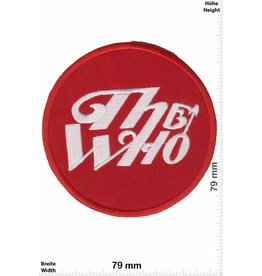 The Who The Who - rund - rot silber