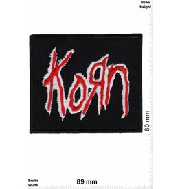 Korn Korn - black red -Metalband