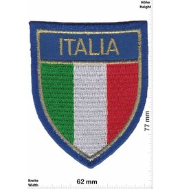 Italien, Italy Italien - Flagge - Wappen - Italia