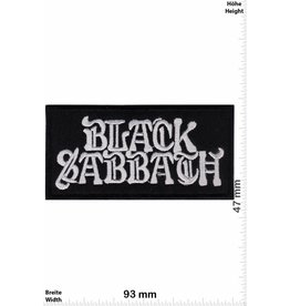 Black Sabbath Black Sabbath - silber black -Heavy-Metal-Band