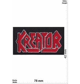 Kreator Kreator - red silver -Thrash-Metal-Band