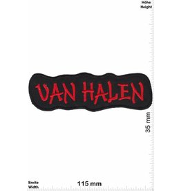 Van Halen Van Halen - red -Hard-Rock-Band