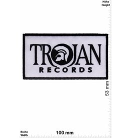 Trojan Trojan Records - black white