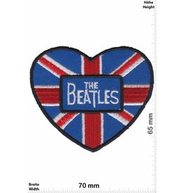 Beatles  The Beatles - Heart - UK - Union Jack