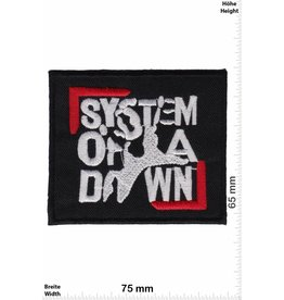System of a Down System of a Down - silver red - Alternative-Metal-Band