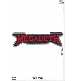 Megadeth Megadeth - red - Metalband