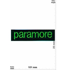 Paramore Paramore - neon green -  Alternative-Rock-Band