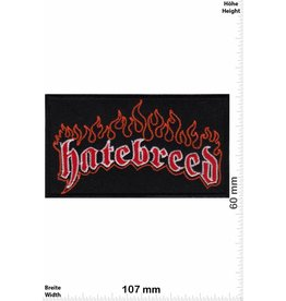Hatebreed Hatebreed - black red -Metallic-Hardcore-Band