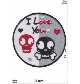 Love I love You - Skull