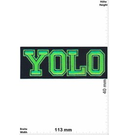 YOLO YOLO - neongreen