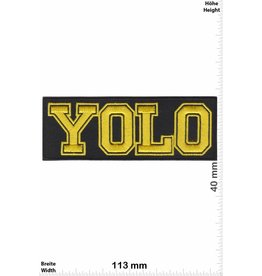YOLO YOLO - Yellow