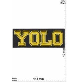 YOLO YOLO - Yellow