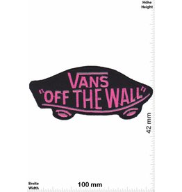 Vans VANS - off the Wall - neon pink