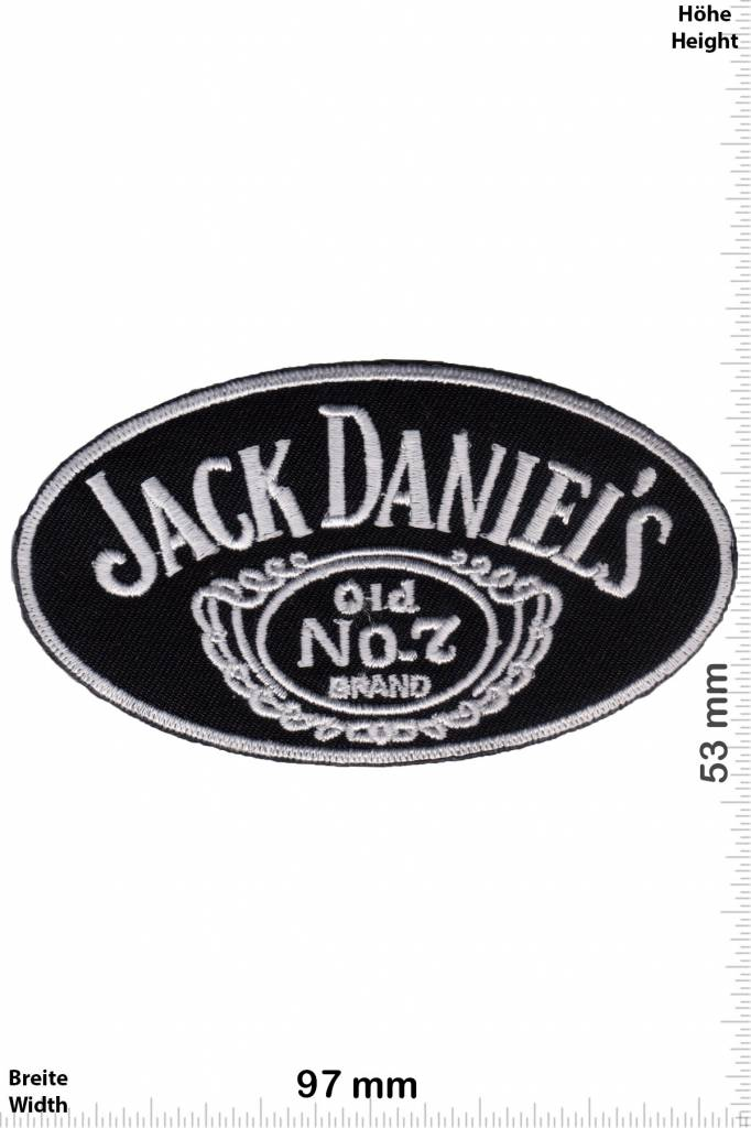 PATCHES LOT OF 2 JACK DANIELS OLD NO 7 AND A WOODFORD RESERVE NEW