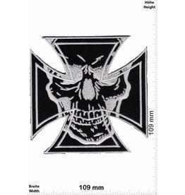 Kreuz Eiserne Kreuz - Totenkopf - big