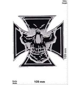Kreuz Iron Cross - Skull - big