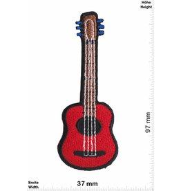 Gitarre rote Gitarre - red Guitar