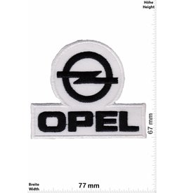 Opel Opel - black white