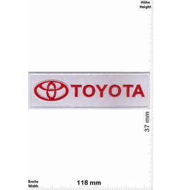 Toyota Toyota - white red