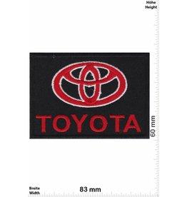Toyota Toyota - black red
