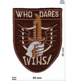 Who Who Dares Wins!