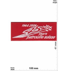 Swiss 45 Years Patrouille Suisse - 1964-2009
