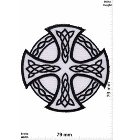 Celtic Celtic Cross - white
